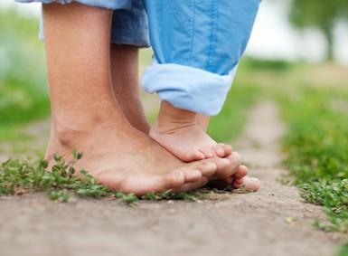 Auf wie füße man stehen kann Hallo ich