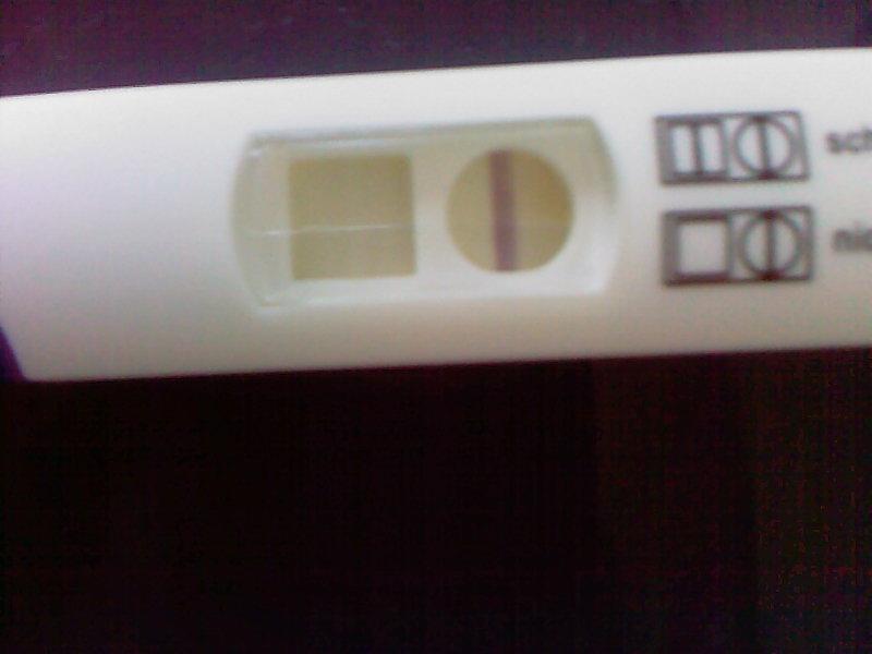 Querstreifen schwangerschaftstest Skalare Kopplung