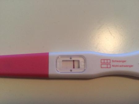 Ganz positiv schwangerschaftstest schwach Test ganz