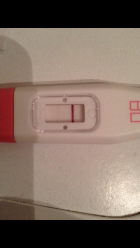 Schwangerschaftstest schwacher Schwangerschaftstest