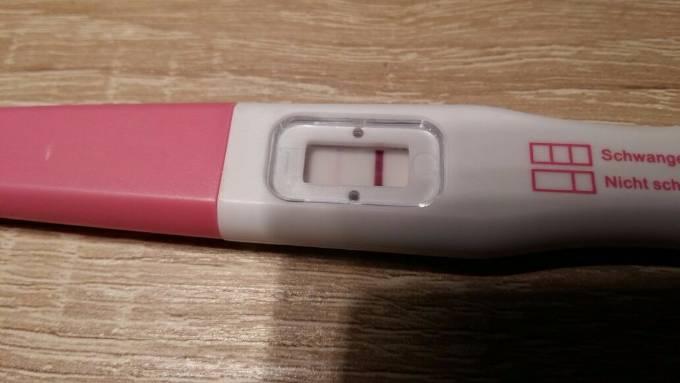 Positiv schwangerschaftstest ganz schwach Schwangerschaftstest ganz