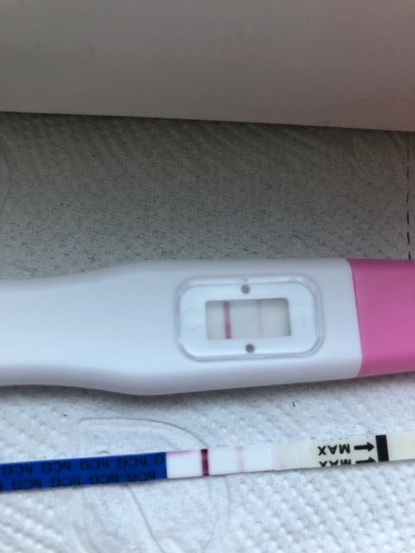 Querstreifen schwangerschaftstest Schwangerschaftstest Querstreifen