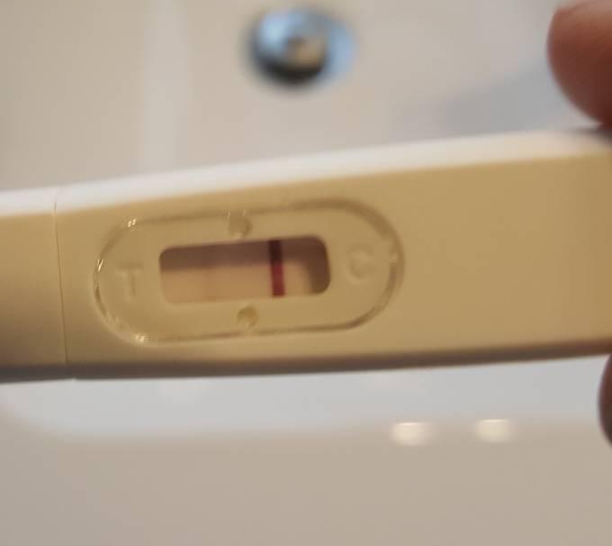Querstreifen schwangerschaftstest Mango in